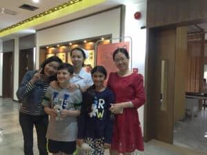 paciente na China para tratamento com células-tronco para o autismo